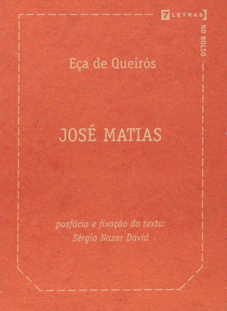 Resumo José Matias - Eça de Queirós