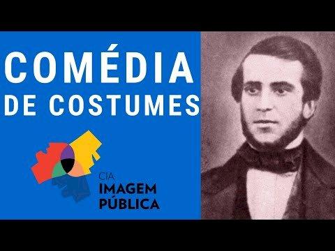 Resumo Comédia de Costumes - Martins Pena